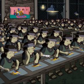 """Abertura de """"Os Simpsons"""" ilustra a divisão territorial do trabalho"""