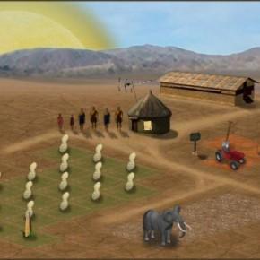 """Game """"Agricultor do Terceiro Mundo"""" é traduzido para o português"""