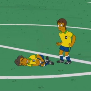 ´Os Simpsons´mostra problemas na Copa do Mundo no Brasil