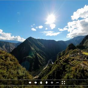 Explore Machu Picchu em 360º