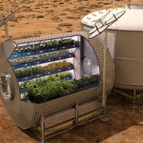 Agricultura no espaço
