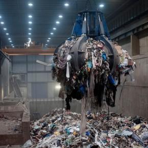 Uma cidade que compra lixo