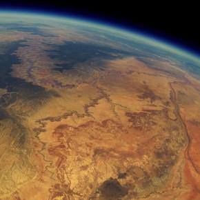 GoPro em balão meteorológico faz imagens incríveis do Grand Canyon