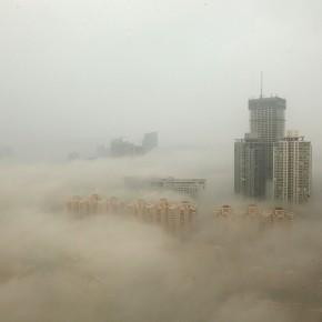 Poluição do ar na China fica descontrolada