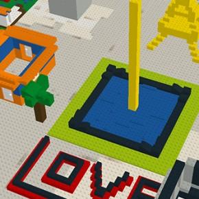 Junte Lego e Google Mapas e construa mundos virtuais