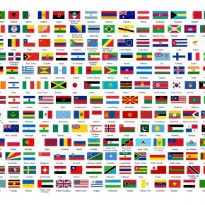 Os melhores gráficos para quem gosta de bandeiras