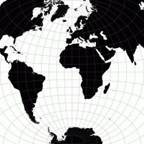 Mapas animados facilitam a comparação entre projeções cartográficas