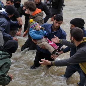 Fotos interativas revelam a realidade das crianças refugiadas