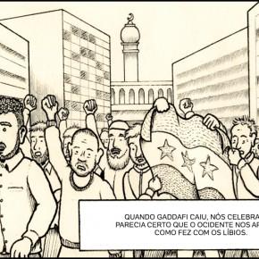As histórias dos refugiados contadas em vídeos e quadrinhos