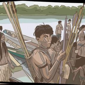 A luta dos índios Munduruku contra hidrelétrica contada visualmente