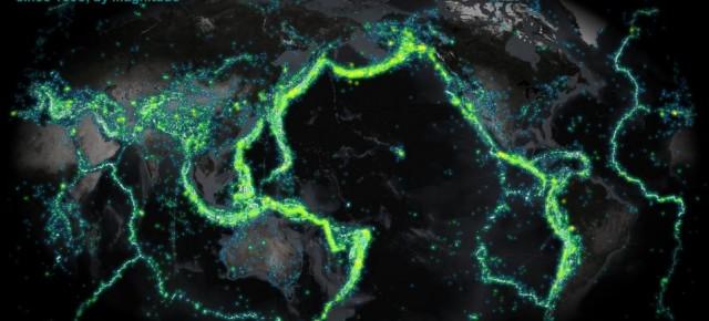 Os terremotos explicados em vídeo, GIF e slide